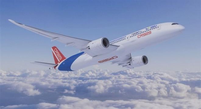 Çin-Rusya ortak yapımı CR929 modeli uçağın üretimine başland