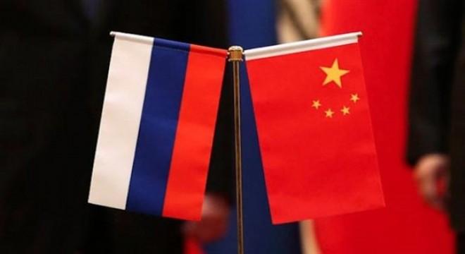 Çin ve Rusya donanmaları arasında ilk ortak devriye