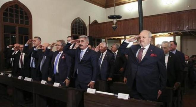 Ankara Sanayi Odası'nın (ASO), ekim ayı meclis toplantısı, 1'inci Meclis Binası'nda düzenlendi.