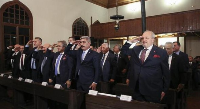 1'inci Meclis'ten asker selamı