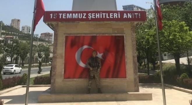 15 Temmuz anıtına akıl almaz saldırı