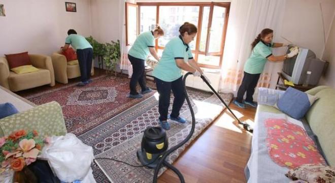 571 konut temizlendi
