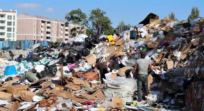 96 bin ton 335 kilo atık ekonomiye kazandırıldı