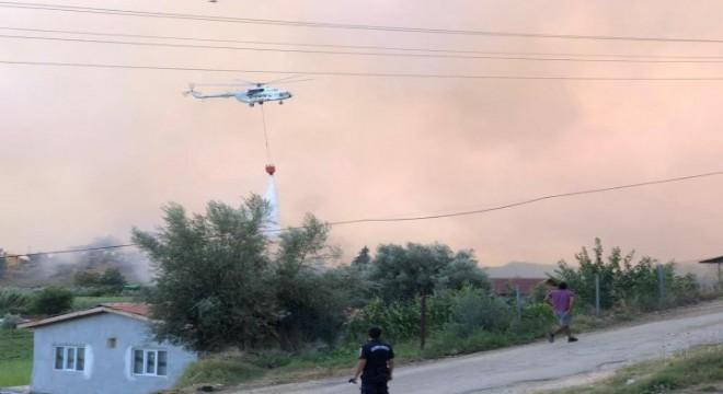 Antalya Gündoğmuş'taki yangın kontrol altında