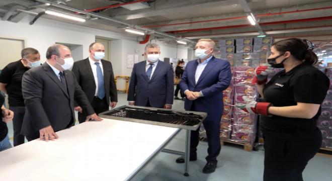 Bakan Varank, Gümüşdağ Elektronik'i ziyaret etti