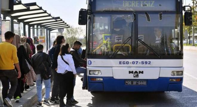 Beytepe'ye beş otobüs