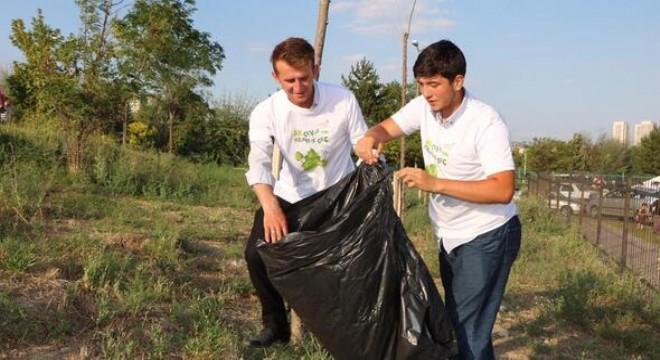 Çevremiz temizlikle Ankaramız gençlerle güzelleşecek