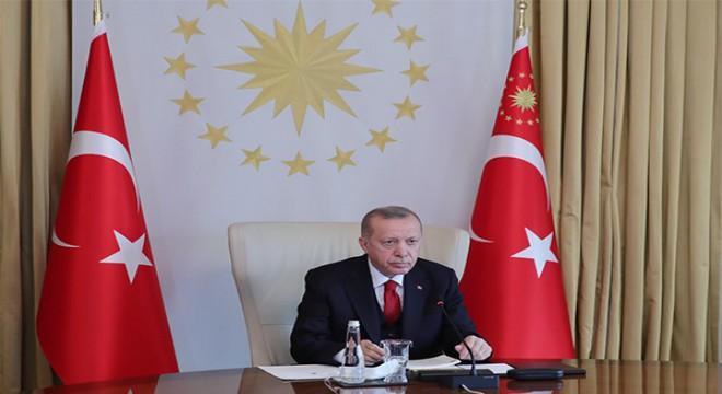 Cumhurbaşkanı Erdoğan, AK Parti teşkilatı ile bayramlaştı
