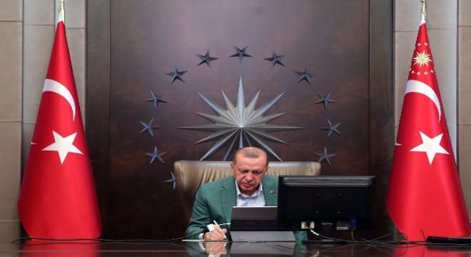 Cumhurbaşkanı Erdoğan, Gürcistan Başbakanı İrakli Garibaşvili ile görüştü
