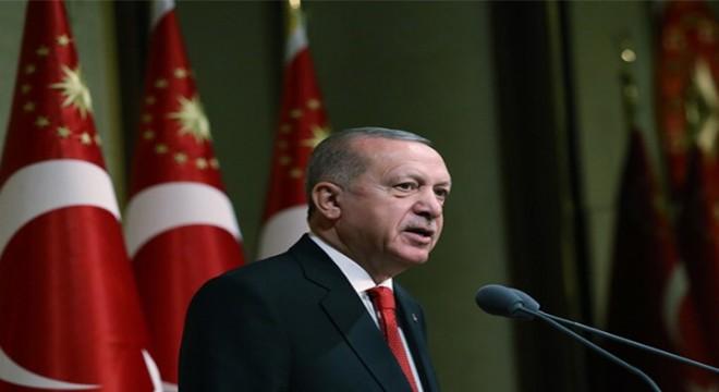 Cumhurbaşkanı Erdoğan, KKTC Barış ve Özgürlük Bayramı Resmi Töreni'nde konuştu