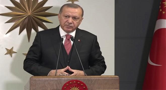 Cumhurbaşkanı Erdoğan cuma namazı çıkışında konuştu