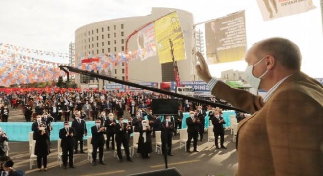 Cumhurbaşkanı Erdoğan, toplu açılış törenine katıldı