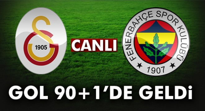 Galatasaray Fenerbahce 0 1 Mac Ozeti Ve Golleri Izle Gs Fb