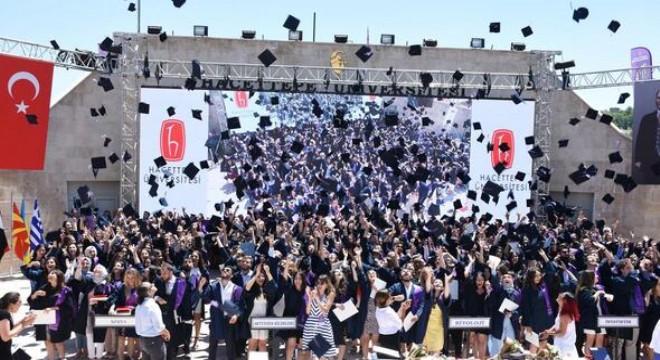 Hacettepe Üniversitesi Fen Fakültesi, 276 öğrencisini mezun etti. Mezuniyet heyecanı yüzlerinden okunan öğrenciler coşku içinde kep fırlattı.