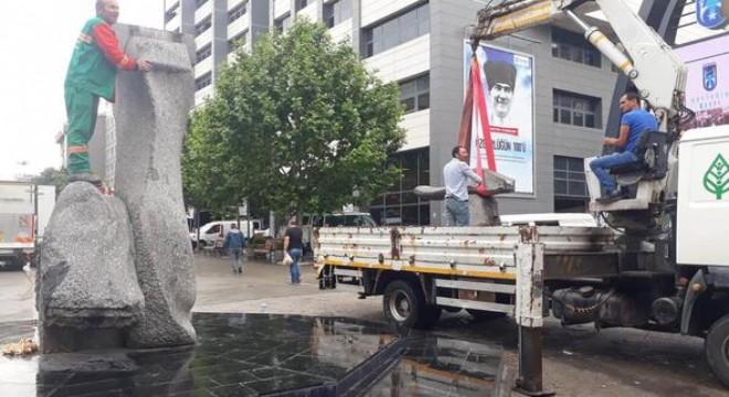 Çankaya Belediyesi tarafından Sakarya Caddesi'nde yenileme çalışmaları başladı.