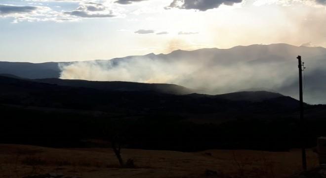 Hozat'taki yangın kontrol altında