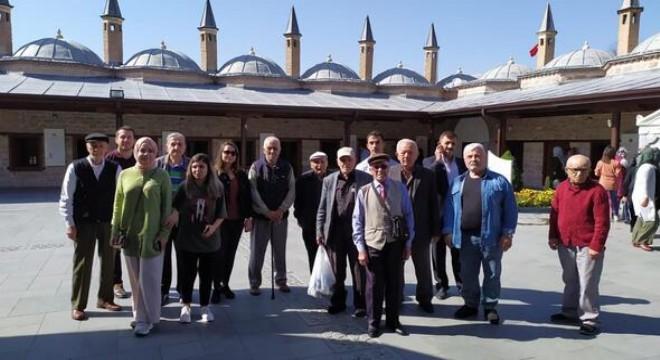 Huzurevi sakinleri Konya'da