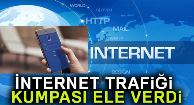 İnternet trafiği kumpası ele verdi