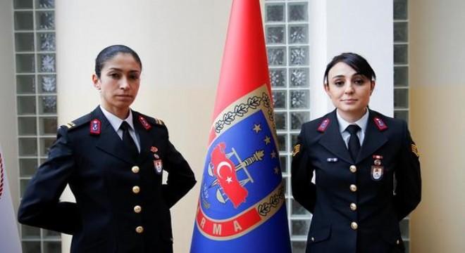Kadın komutanlar vatan nöbetinde