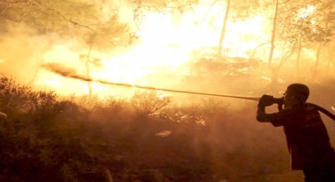 """Karacabey: """"Alevlerle mücadelemiz devam ediyor"""""""