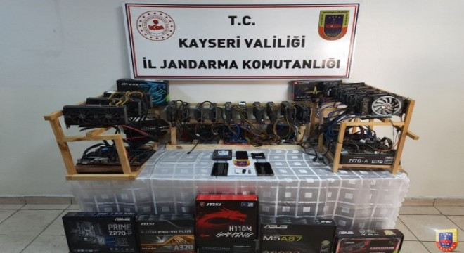 Kayseri'de kripto para operasyonu