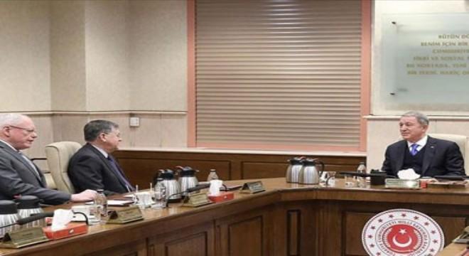 Milli Savunma Bakanı Akar ABD Suriye Özel Temsilcisi Jeffrey'i kabul etti