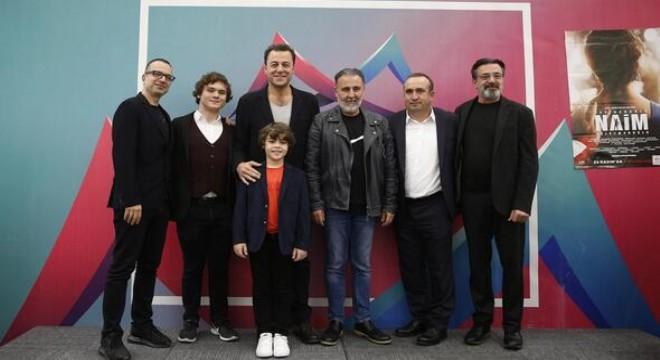 'Cep Herkülü: Naim Süleymanoğlu' filminin ekibi ve Naim Süleymanoğlu'nun kardeşi Muharrem Süleymanoğlu, Ankaralı sinemaseverlerle buluştu.