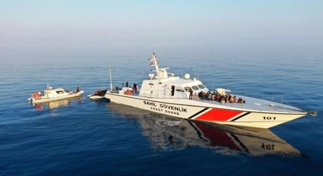 Sahil Güvenlik Komutanlığı'ndan tahliye çalışmalarına destek