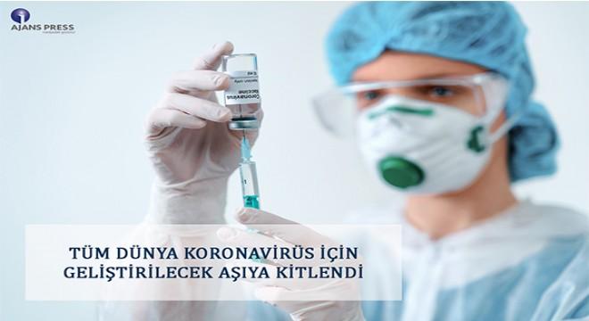 Tüm dünya korona virüs için geliştirilecek aşıya kitlendi