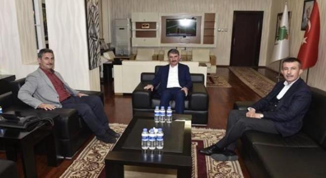 Üç başkan bir arada